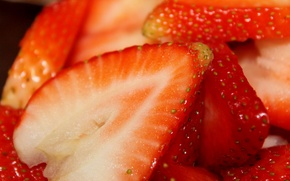 Picture berries, food, strawberries, strawberry