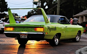 Picture Plymouth, Superbird, Road Runner, '1970, Engine Hemi V8, 425 h.p