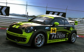 Picture coupe, UK, dangeruss, mini coupe, patron racing, compact sports car