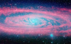 Picture stars, galaxy, infinity, Andromeda