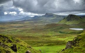 Picture Meadows, Mountains, Scotland