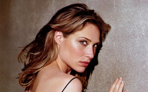 Picture look, girl, pose, makeup, actress, hair, Claire Forlani, Claire Forlani