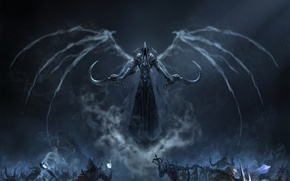 Picture Blizzard, Art, Diablo 3, Background, Blizzard Entertainment, Minions, Fan Art, Reaper, Video Game, Reaper of ...