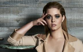 Picture pose, makeup, actress, hairstyle, brown hair, photoshoot, American, Sasha Pieterse, Sasha Pieterse