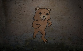 Picture background, wall, bear, bear