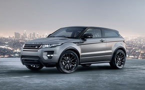 Picture the sky, the city, coupe, panorama, Victoria Beckham, Victoria Beckham, Land Rover, Range Rover, Coupe, ...