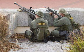 Picture barrett M82, sniper, sheriff