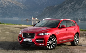 Wallpaper Jaguar, SUV, Jaguar, F-Pace