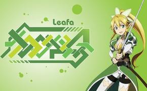 Picture sword, game, anime, fairy, beautiful, pretty, ken, blonde, asian, cute, manga, japanese, Sword Art Online, …
