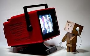 Picture box, TV, Amazon