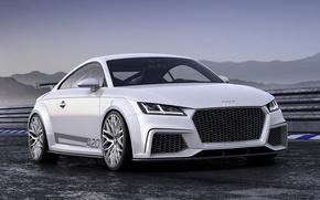 Picture Audi, sport, Audi, concept, the concept, sport, quattro, the front, Quattro