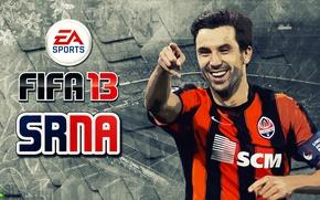 Picture football, Darijo Srna, Miner, FIFA 13, Darijo Srna, Shahtar