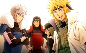 Picture anime, art, Naruto, Hokage, Minato