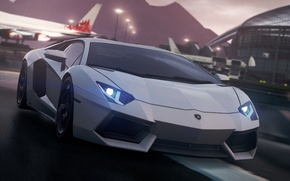 Picture lamborghini, 2012, Need for Speed, nfs, aventador, Most Wanted, NSF, NFSMW