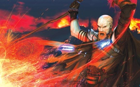 Picture Magic, Flame, MAG, Staff, The wizard, Neverwinter Night 2, Ammon Jerro