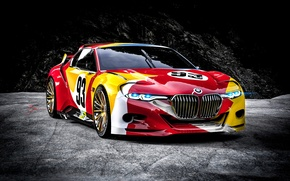 Wallpaper car, bmw, hommage, csl 3.0