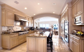 Picture photo, Design, Table, Kitchen, Interior, Headsets