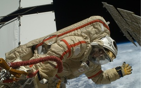 Picture Space, ISS, Russian cosmonaut, Kotov Oleg Valerievich, Colonel of medical service