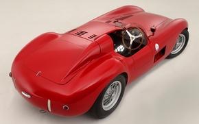 Picture Maserati, Maserati, classic, rear view, 1956, 300S
