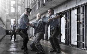 Picture fight, prison, prisoner, police