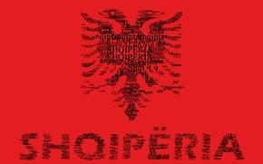 Picture Flag, Albania, Text, Agron
