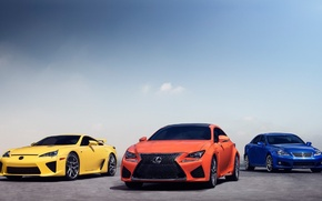 Picture coupe, Lexus, RCF