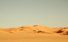 Wallpaper the wind, Africa, heat, desert, sand, yellow, nature, landscape