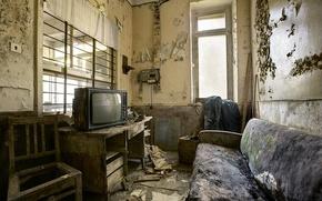 Picture room, sofa, interior, TV