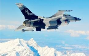 Wallpaper flight, fighter, military aircraft