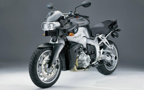 Picture motorcycle, the dark background, BMW к1200r