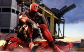 Picture Deadpool, Marvel Comics, Wade Wilson