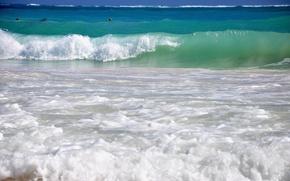 Picture sea, wave, landscape, the ocean