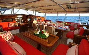 Picture design, style, interior, yacht, Suite, luxury yacht