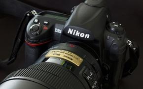 Picture background, camera, Nikon