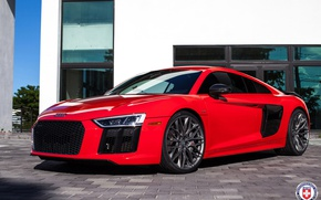 Picture Audi, with, HRE, P200, R8, in, Satin Charcoal