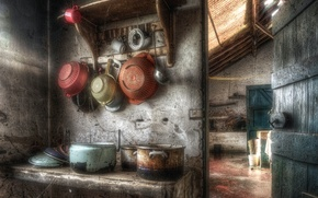 Picture background, kitchen, dishes