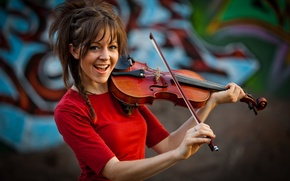Picture girl, violin, violin, Lindsey Stirling, Lindsey Stirling, violinist