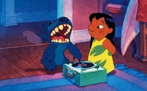 Wallpaper lilo and stitch, stitch, stitch, Lil, lilo&stitch, freak, blue, I love it