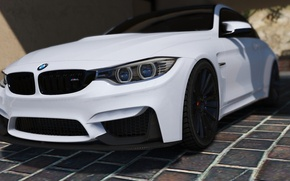 Picture white, BMW, BMW, F82, GTA 5, 2016