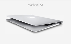 Picture ease, Apple, 2013, ultrabook, 11 inch, minimalism, subtlety, Mac Book Air