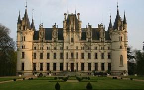 Picture castle, France, Castle Chateau Challain the Chambord of Anjou