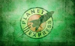 Wallpaper the film, the series, futurama, Futurama, cartoon, Planet Express, Planet Express