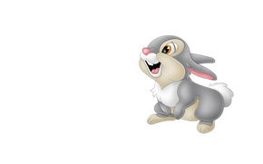 Picture smile, mood, art, Bunny, children's