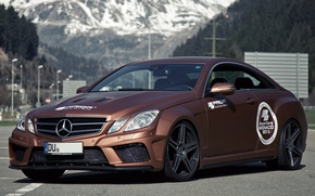 Wallpaper Mercedes, Mercedes, Black Edition, 2013, Widebody, Prior-Design, C207, PD850