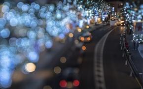 Picture bokeh, cityscapes, Takashi Kitajima, Tokio. night