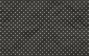 Picture texture, polka dot, black background