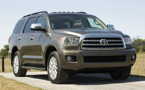 Picture SUV, toyota, platinum, sequoia, the superavto