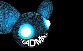 Picture Music, Eyes, Background, Words, Deadmau5, Deadmaus