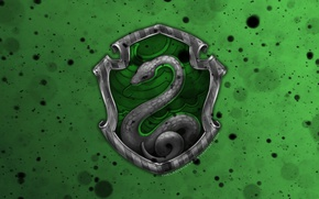 Picture Hogwarts, Harry Potter, deviantart wallpapers, Slytherin, by theladyavatar