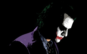 Wallpaper Joker, the dark knight, Heath Ledger